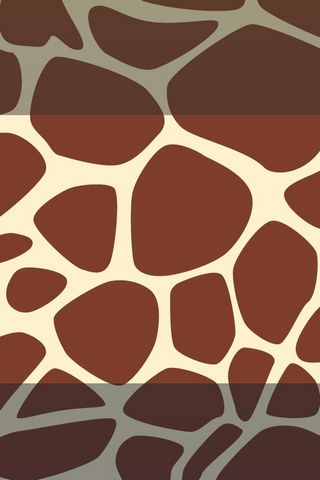 Giraffe Print Lock Screen - IP4