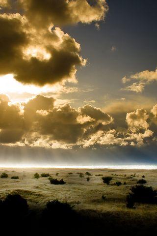 Nature Sundown Pacific