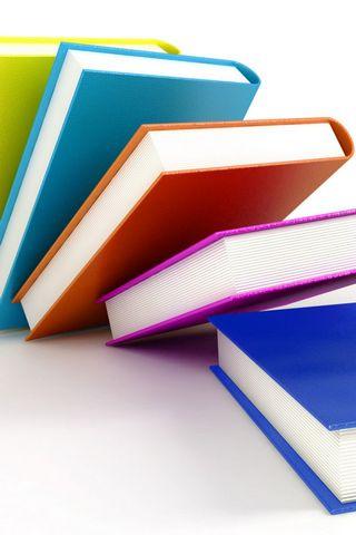 Colorful Books Hd