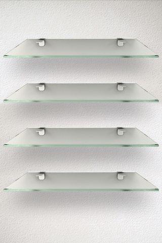 Crystal Shelfs