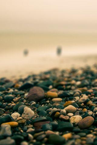 沙滩,卵石