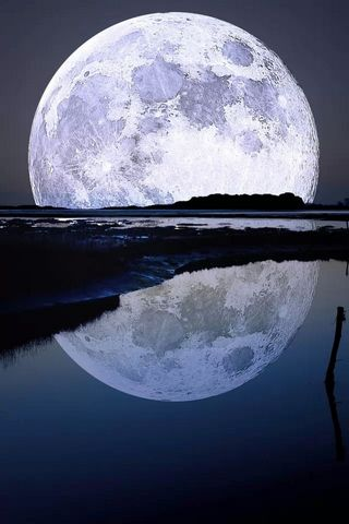 Moon-reflected