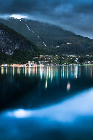 Geiranger At Night