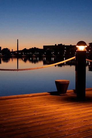 Dock At Evening