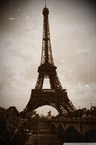 Tower Eiffel Vintage