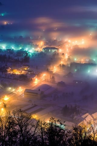 Winter-Night-In-Pregrada