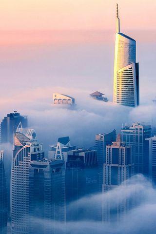 Clouds In Dubai Hd