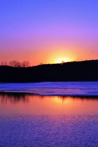 Reflecting The Sunset