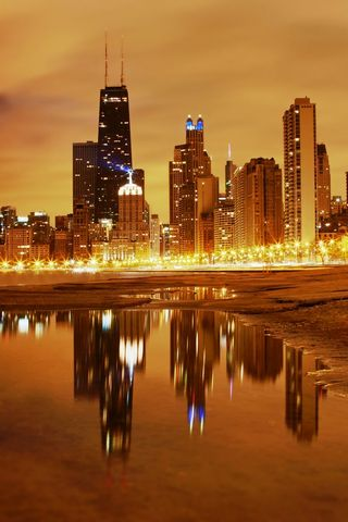 Chicago Late Evening