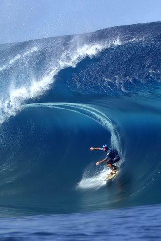 Surfing Iphone