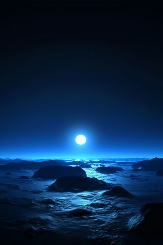 Синє море