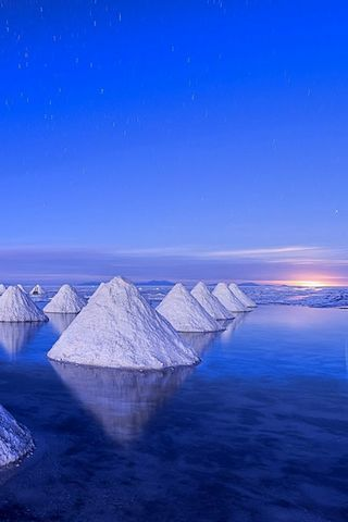 Sea Salt Landscape