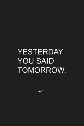 어제 너는 내일이라고 말했다