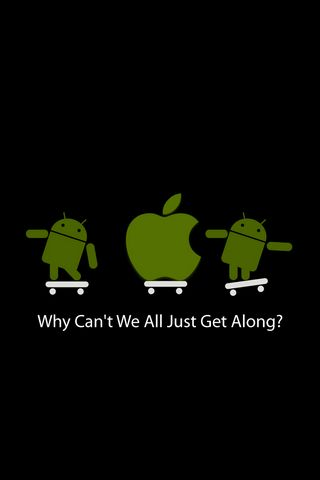 Android And Apple Together