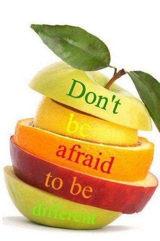 Non aver paura di essere diverso