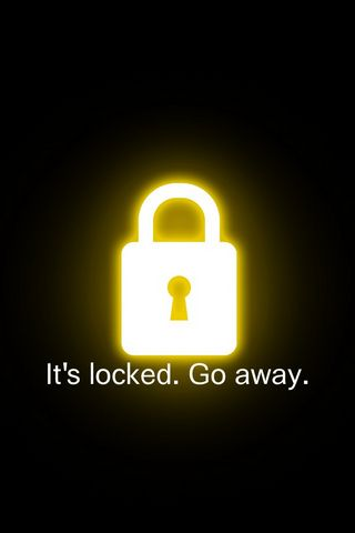 It's Locked