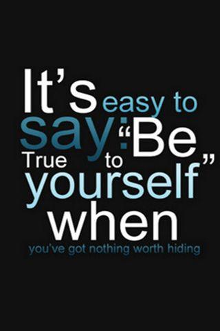 Seja verdadeiro