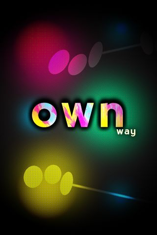 Own Way IPhone