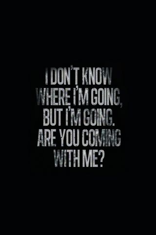 Im Going