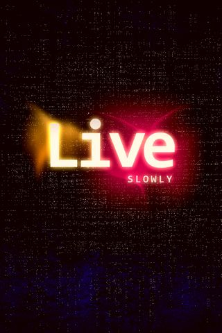 Live Slow IPhone 4s