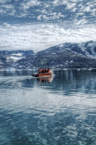 Arctic Sea Eastern Greenland