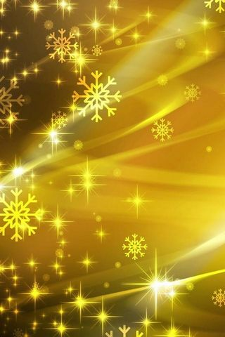Snowflakes Yellow