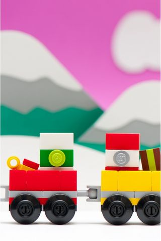 Lego Train Christmas