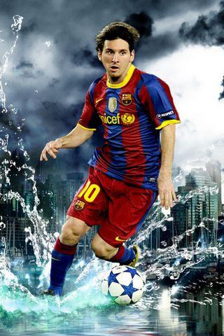 Lionel Messi-*