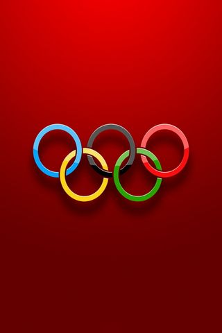 Olympic Rings Logo 640x960