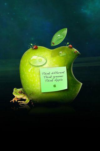 Зелений яблуко