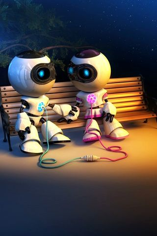 الحب الآلي