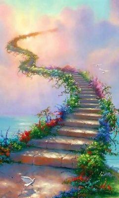 階段 天国 へ の