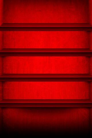 लाल शेल्फ