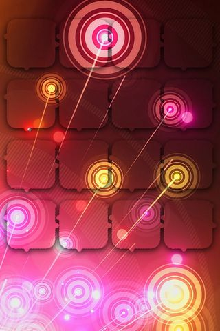 Abstract Circles - Home Screen - IP4