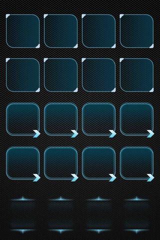 I4 Dark Boxes Shelves Wallpaper