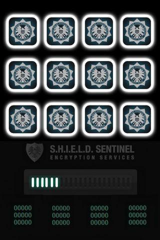 S.H.I.E.L.D Shelves