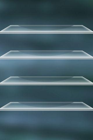 Dark Blue Shelf