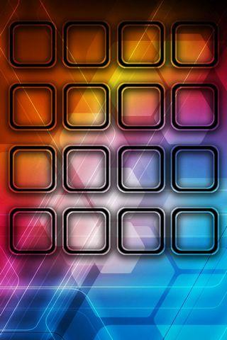 Hexa Glows - Home Screen - IP4