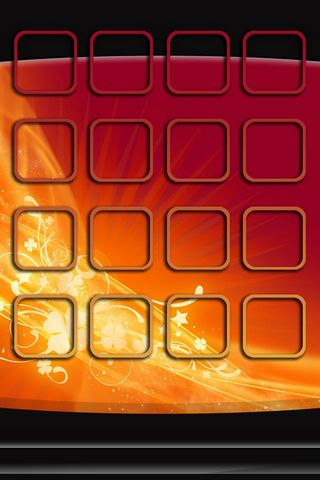 Abstract Waves -Home Screen - IP4