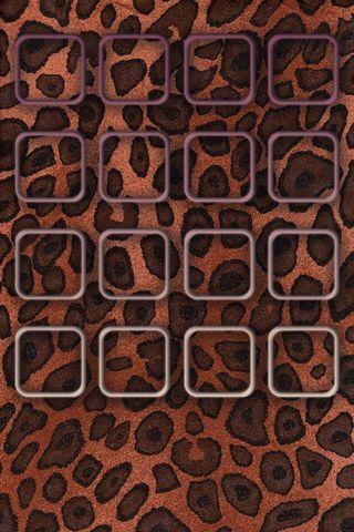 Cheetah Print - Home Screen - IP4