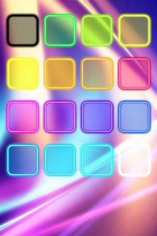 Colourful Shelve