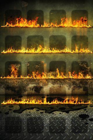 Fire Shelf