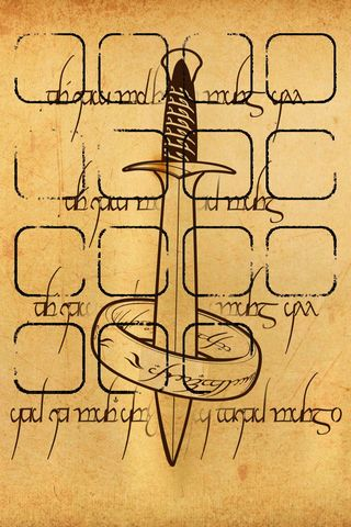 Fonds d'écran de Tolkien