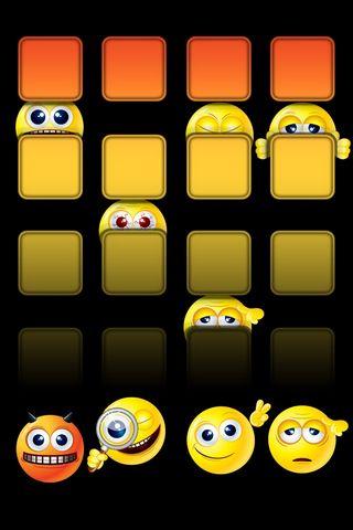 Smileys - Home Screen - IP4