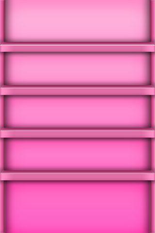 粉红色的架子