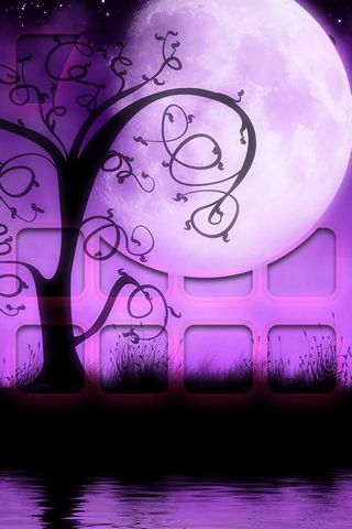 Purple Dance - Home Screen - IP4