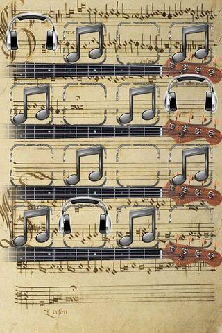 Müzik Notu Rafı