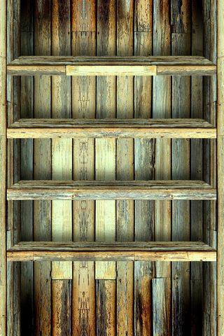Realistic Wood Shelf