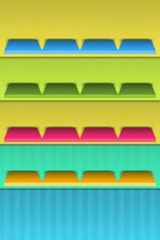 Racks đầy màu sắc