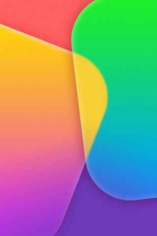 IOS7 colorido